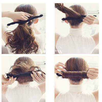 Women Magic Foam Sponge Hair Device Quick Messy Bun Hair Clip Hair Accessories Hair Fashion Tools