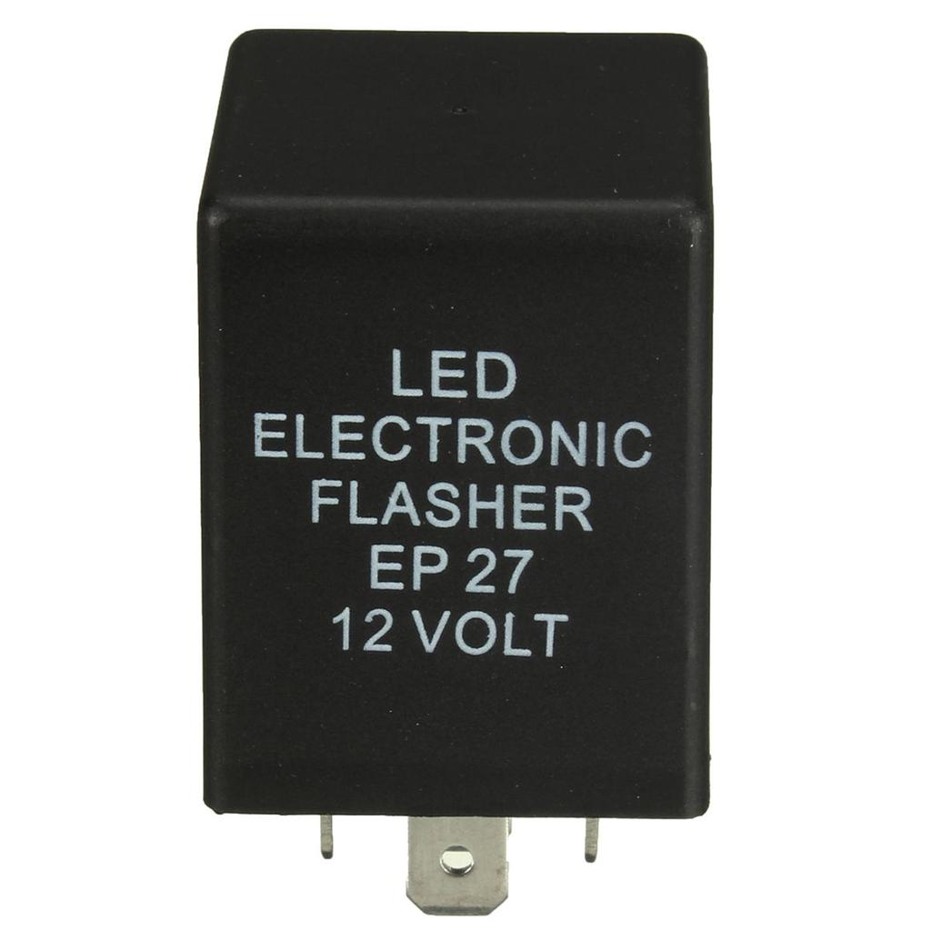 5 Pin Ep27 Led Electronic Flasher Relay Turn Signal Decoder Load Simple Ac Light Bulb 2 Of 4