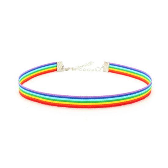 Pride Shack Noir Or Argent Incrustation Symbole Féminin Lesbian Pride Collier Pendentif