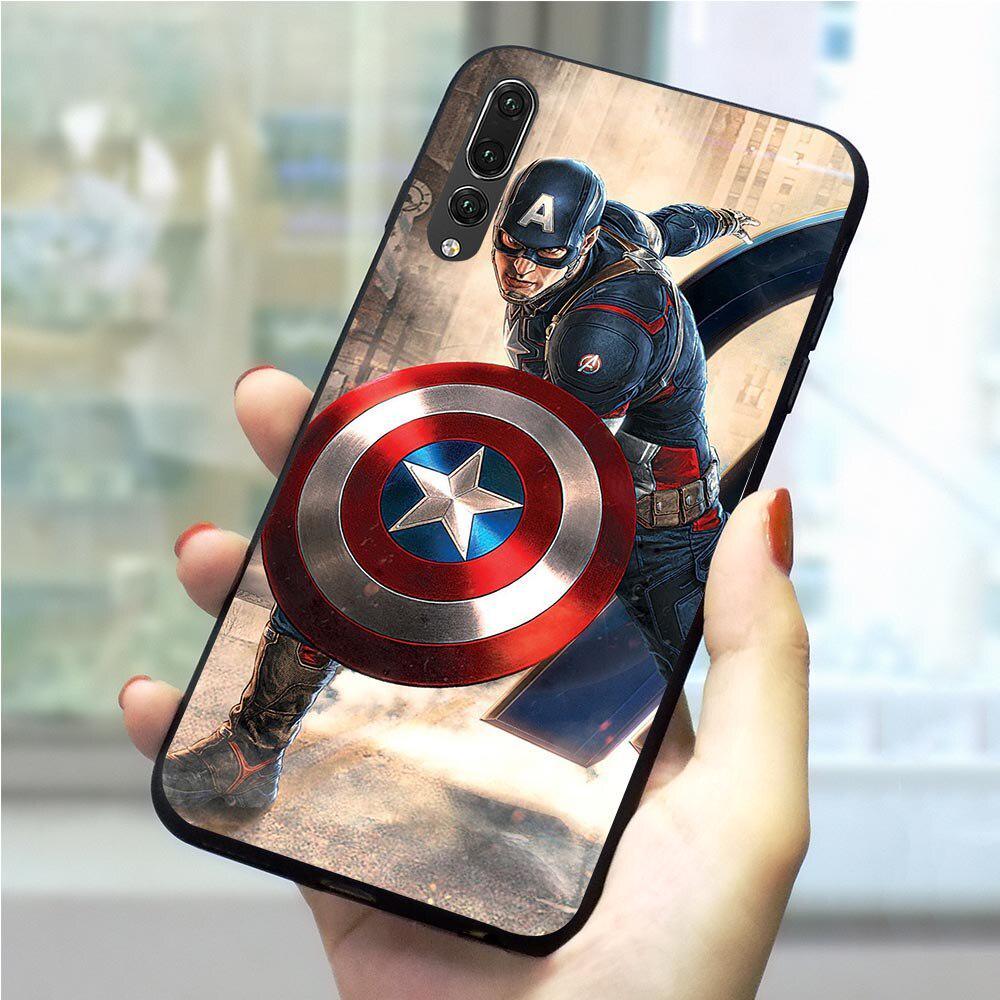 Endgame Captain America Phone Case For Huawei P Smart 2018 Cover P10 P20 P30 Pro Lite TPU Shell