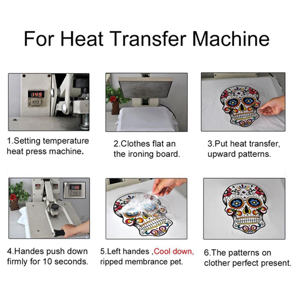 Niños ropa plancha apliques calor transferencia pegatinas gatos ...