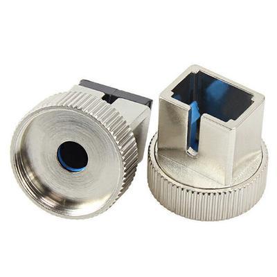 Magideal Fiber Optic Ceramic Sleeve Metal Adapter for Visual Fault Locator