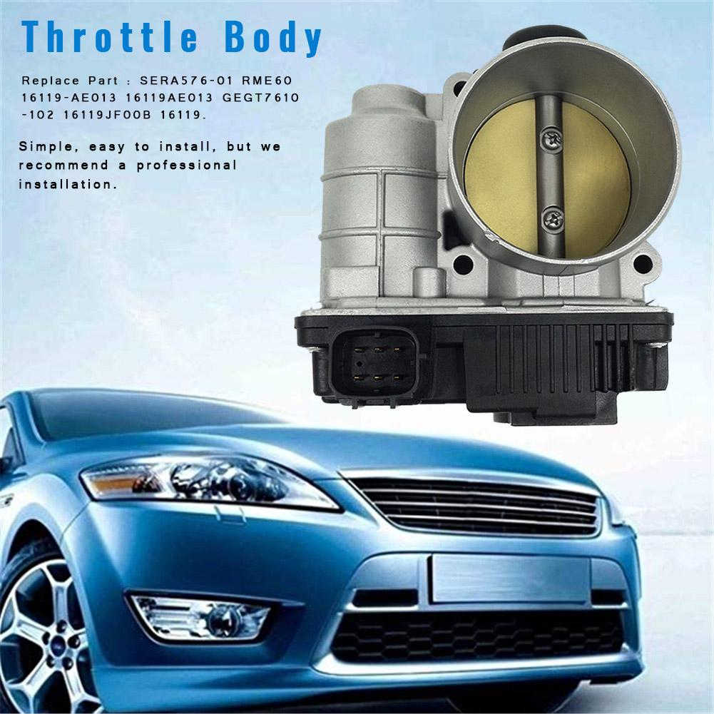 New Throttle Body 16119-AE013 for 2002 2003 2004 2005 2006 Nissan Altima 2.5L