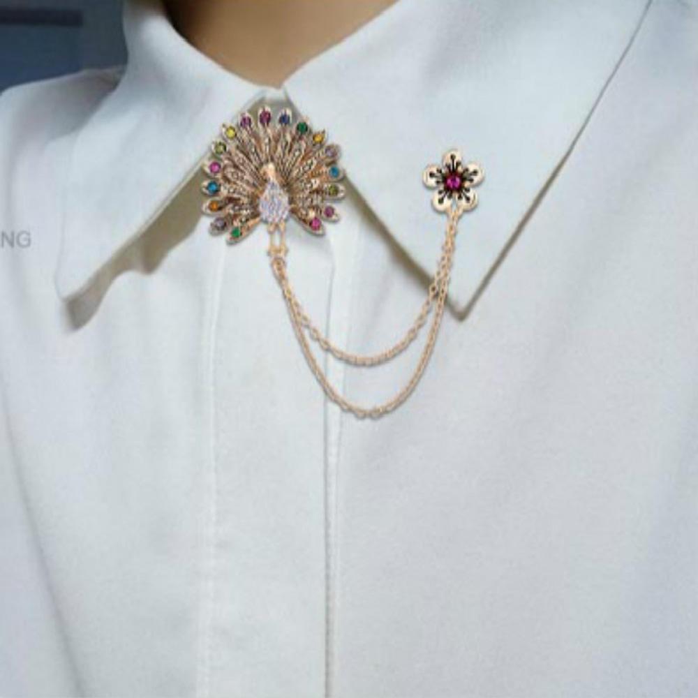 Strass Cadeau Charme bambou Vêtement Décoration Broche Pin Fashion Jewelry