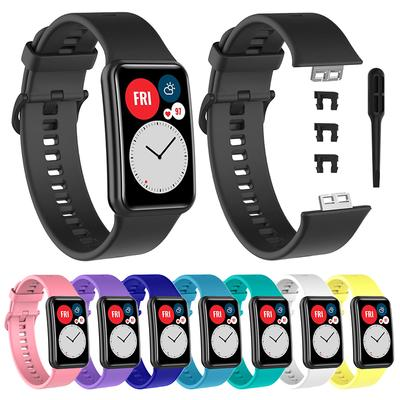 Replacement Silicone Wrist Strap Band For HUAWEI Watch Fit Smart Watch