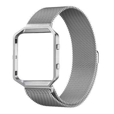 Adjustable Mesh Stainless Steel Watchband Strap Black Gold Silver Metal Bracelet