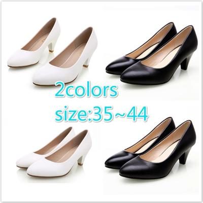 5def64a24f5f3 Sale Women Shoes Pumps Ladies Medium Heel Nude Sexy Shoes Shoe Weeding Shoes  Women Office for