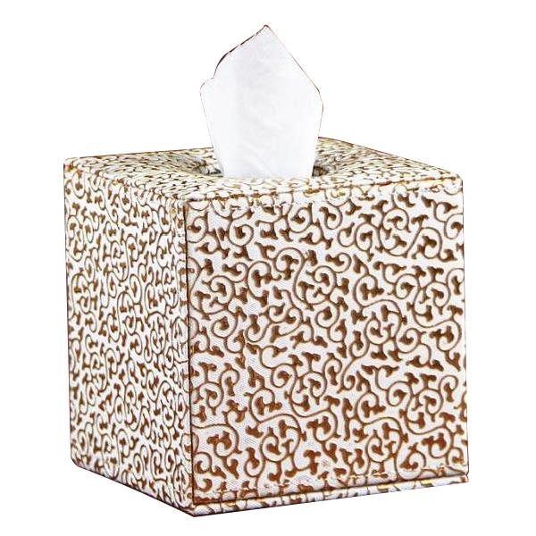 Retro Exquisite Tissue Box Napkin Holder Paper Tower Case Cover Home Car Decor