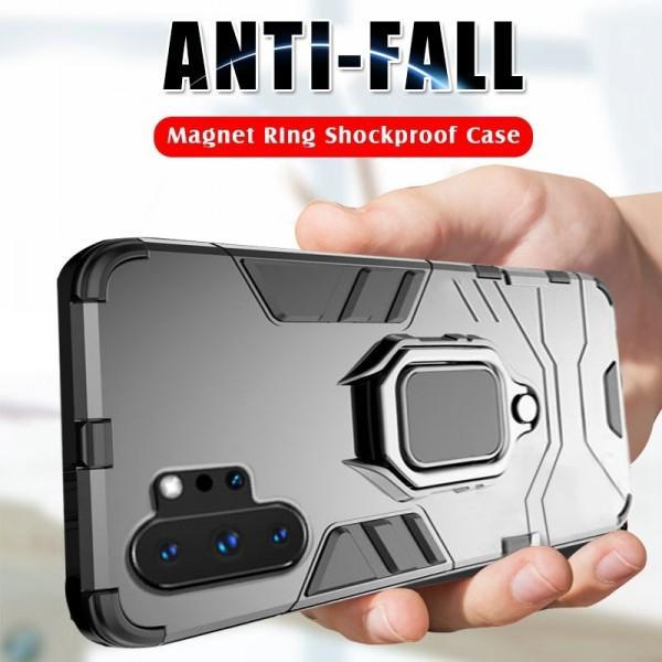 Роскошные кольцо кронштейн Дело на для Samsung Note10plus S10Plus S10e A50 A70 Huawei P30 Lite P20 Дело фото