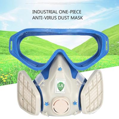 e52f3455023 Full Face Respirator Gas Mask With Goggles Paint Chemical Protective Mask  TTE
