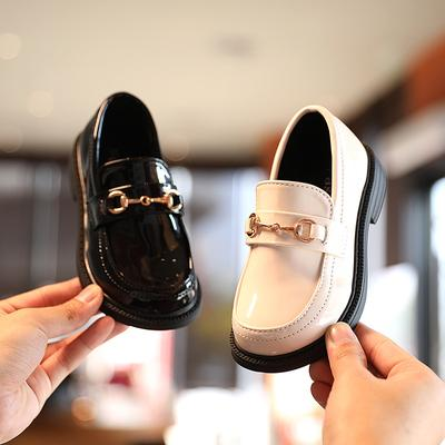 Children's Leather Shoes Spring Boys Retro Girls Princess Shoes