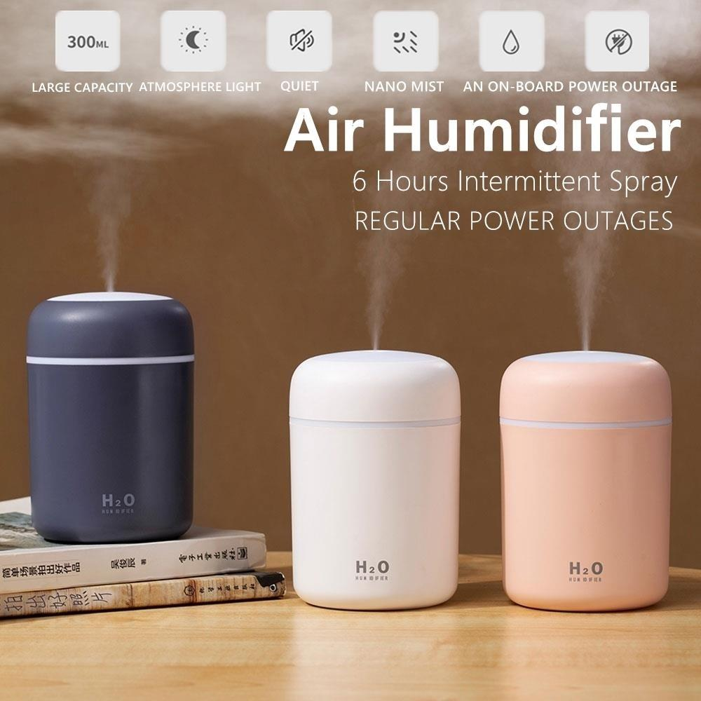 Electric Essential Oil Air Aroma Diffuser Humidifier Burner Car Air Purifier
