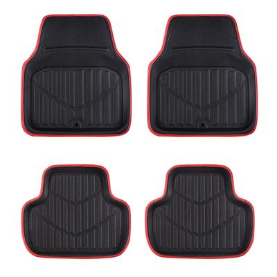 CAR PASS Car Floor Mat Universal Ethnic Style for Car Truck SUV Style 2
