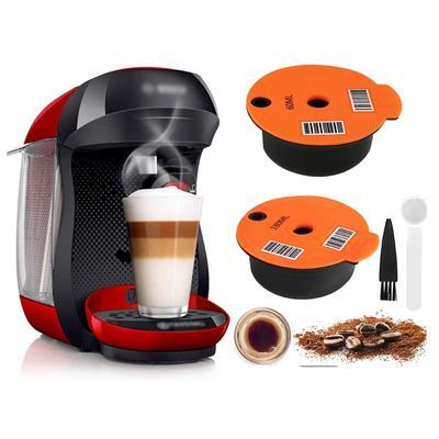 60ML / 180ML Reusable Coffee Capsule Pods for  BOSCH-s Machine Tassimo Refillable Filter Maker Pod