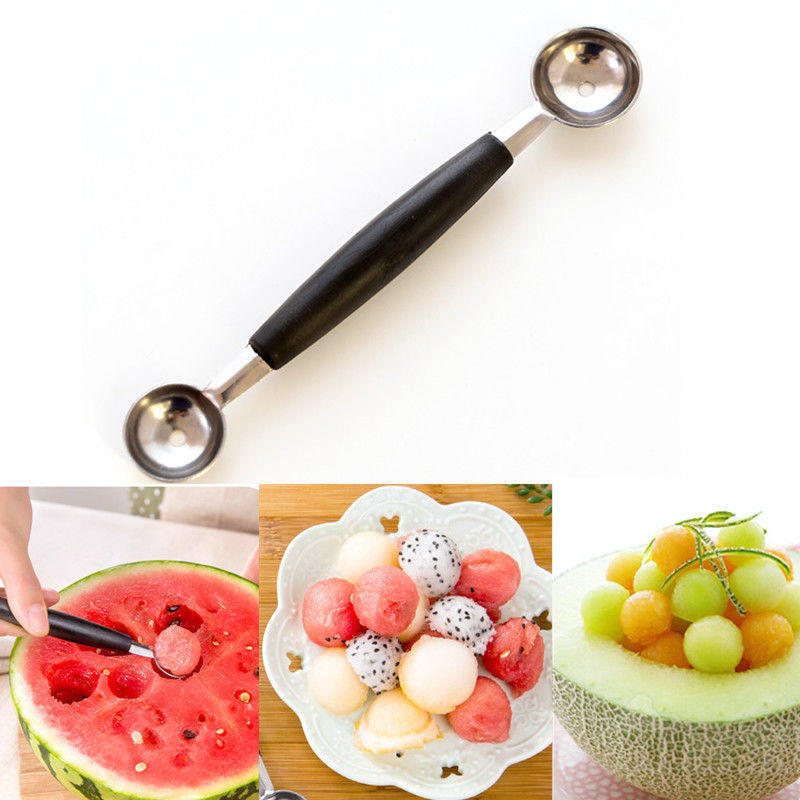 双头西瓜挖球器 多功能水果勺挖球勺 冰激凌勺