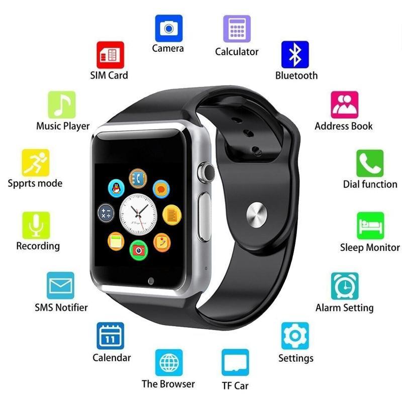Кровяное давление Мониторинг Моды Bluetooth Смарт-часы Спорт Деятельность Фитнес Tracker Тревожные часы – купить по низким ценам в интернет-магазине Joom