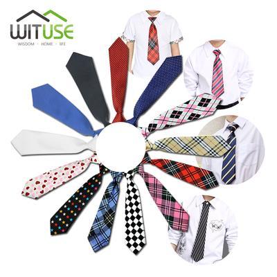 Bekleidung Zubehör Junge Toddle Krawatte Kinder Baby Schule Boy Hochzeit Krawatte Elastische Einfarbig Satin