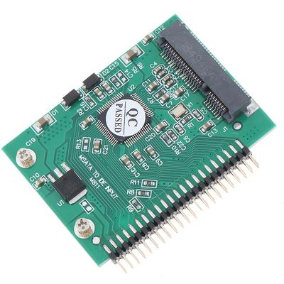New mSATA Mini Extender to 7 Pin SATA HDD Convert Card Adapter