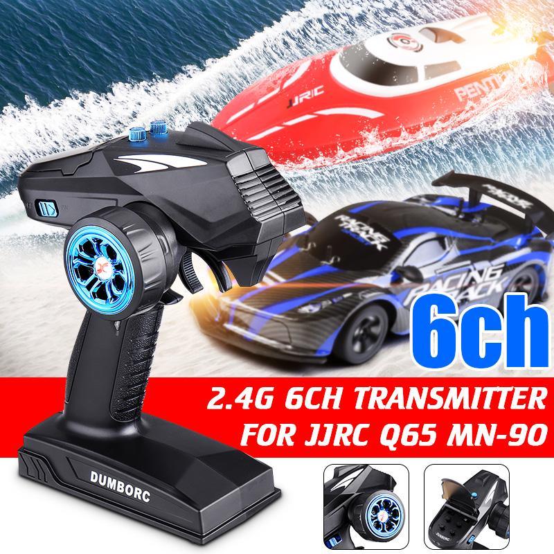 DUMBORC-X6 6CH 2.4G RC Controller Transmitter w// X6FG Receiver for JJRC Q65 Car
