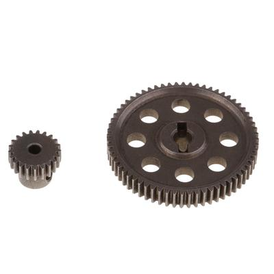 26T Pinion Cog For 1//10 HSP RC Car Accessories Metal Steel Main Motor Gear 64T