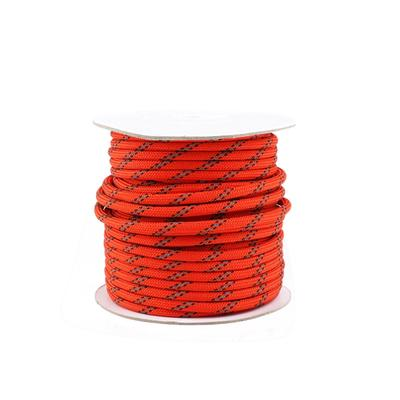 5mm 50m Reflective Guyline Camping Awning Tent Guy Line Cord Paracord Wind Rope