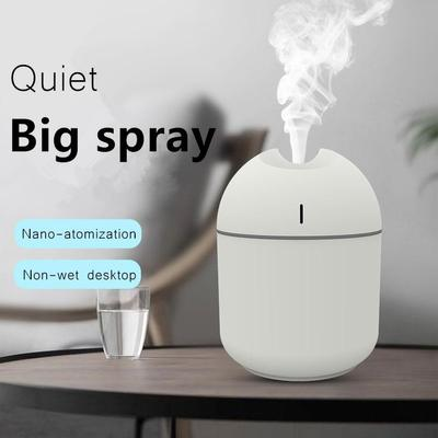 Humidifier Air Purifiers Ultrasonic Atomizer Arom Diffuser for Aromatherapy In Home & Car with USB Port
