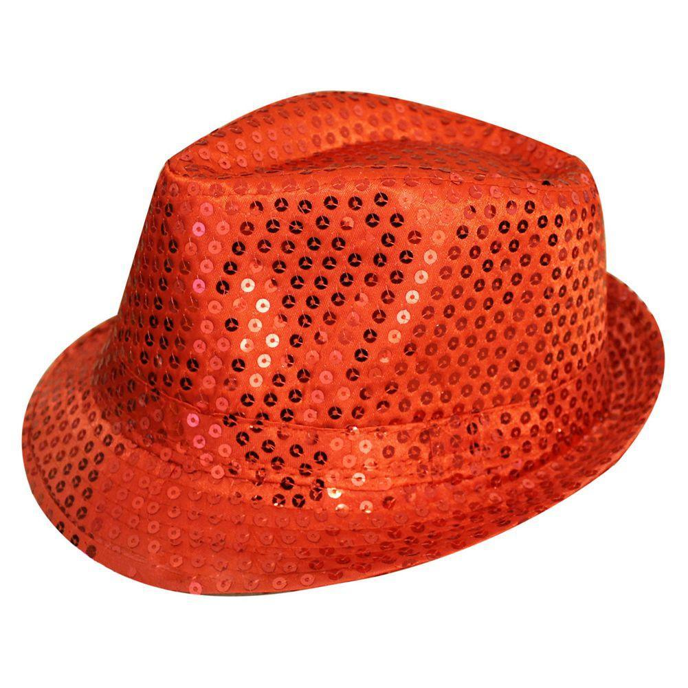SEQUIN TRILBY HAT TOP HAT FANCY DRESS PARTY HEN STAG NIGHT DANCE ... 09f882b3955e