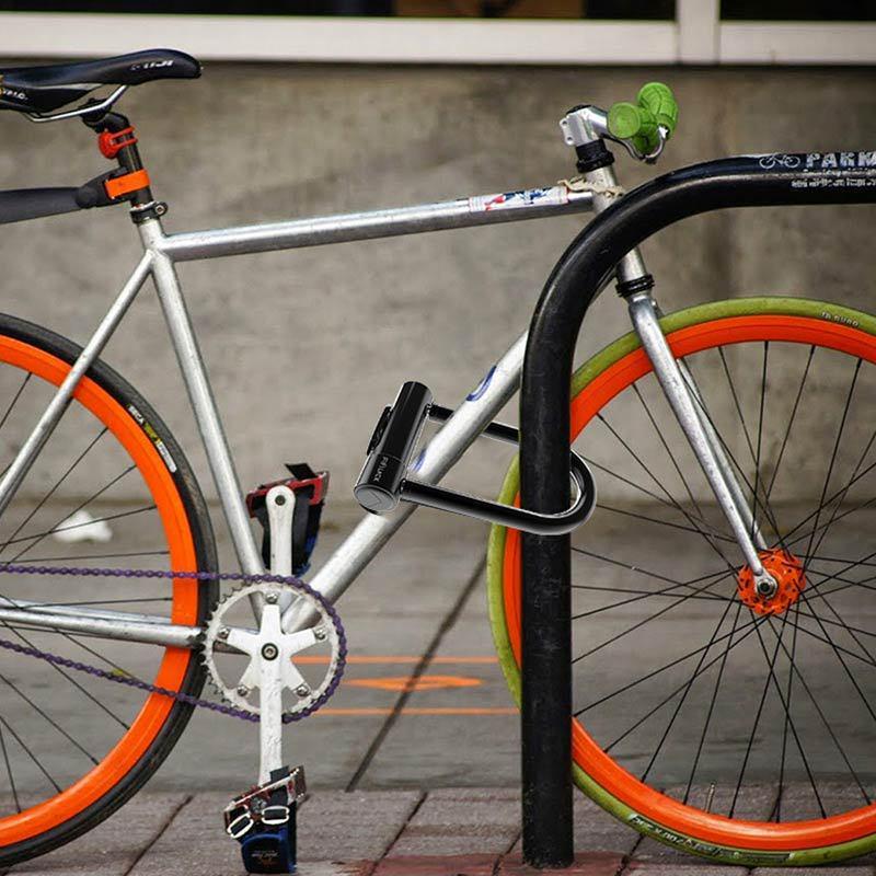 MTB Bike Bicycle Key Bar Lock Security Steel Spiral Chain Cable Padlock 120 cm