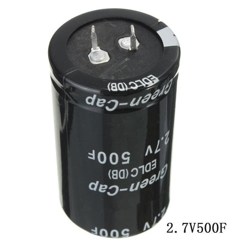 1pcs NEW 2.7V 500F Super Farad Capacitor 35*60mm Super Capacitor  CA