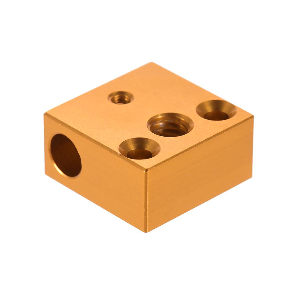 Creality 3D® 2PCS 20*20*10mm Aluminum Heating Block For 3D Printer