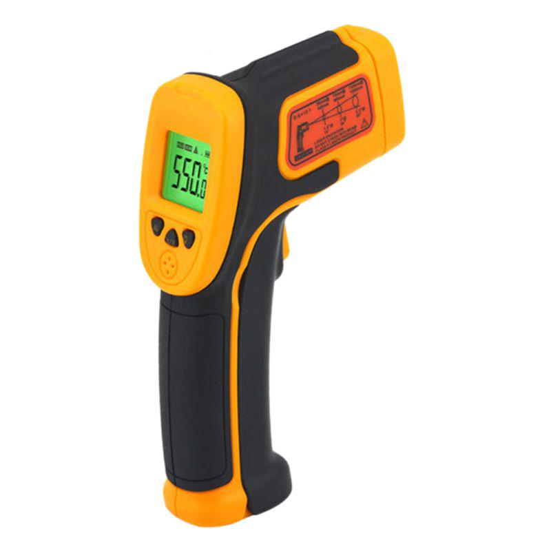 Convenient Industrial thermometer LCD Temperature Backlight High quality