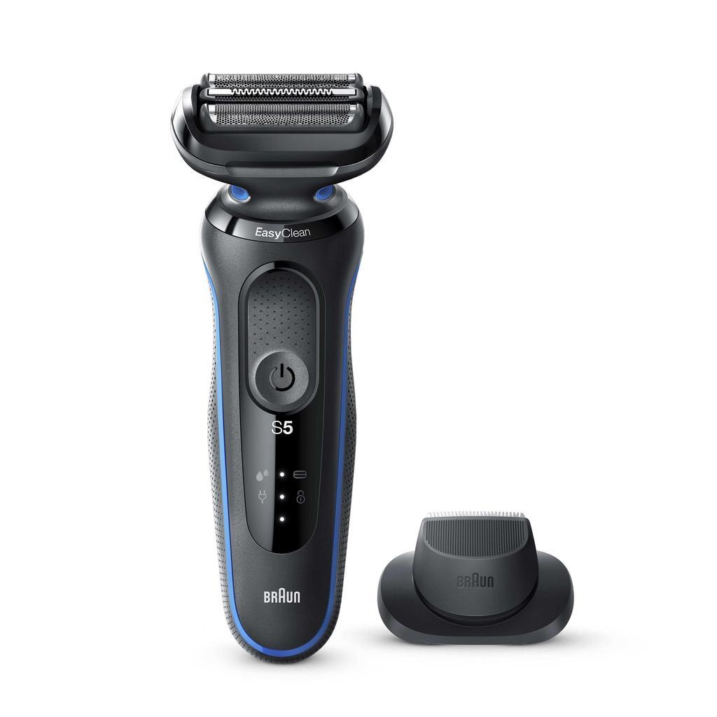 Compre Máquina de barbear elétrica masculina braun série 5 50-b1200s com  aparador de precisão, azul 81702850 barato — frete grátis, avaliações reais  com fotos — Joom