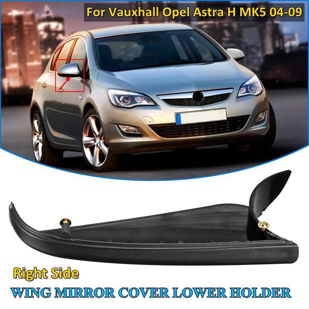Vauxhall Astra H Mk5 04-09 ala Espejo cubierta /& inferior titular Lhs Plata Lightning