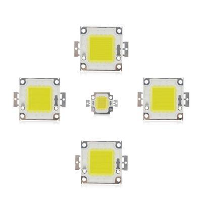 High Power LED Lamp Light COB SMD White//Warm white Bulb Chip DIY 10-100W 12V-36V