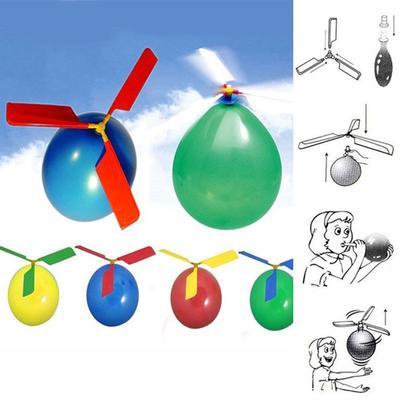 73c145f29 4pcs clásico globo helicóptero Kids niño niño partido juego juguete jardín