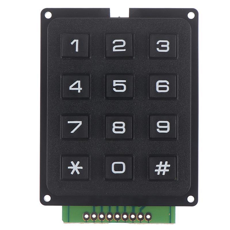 12Key Membrane Switch Keypad 3 x 4 Matrix Keyboard Module Membrane Switch Key ZC