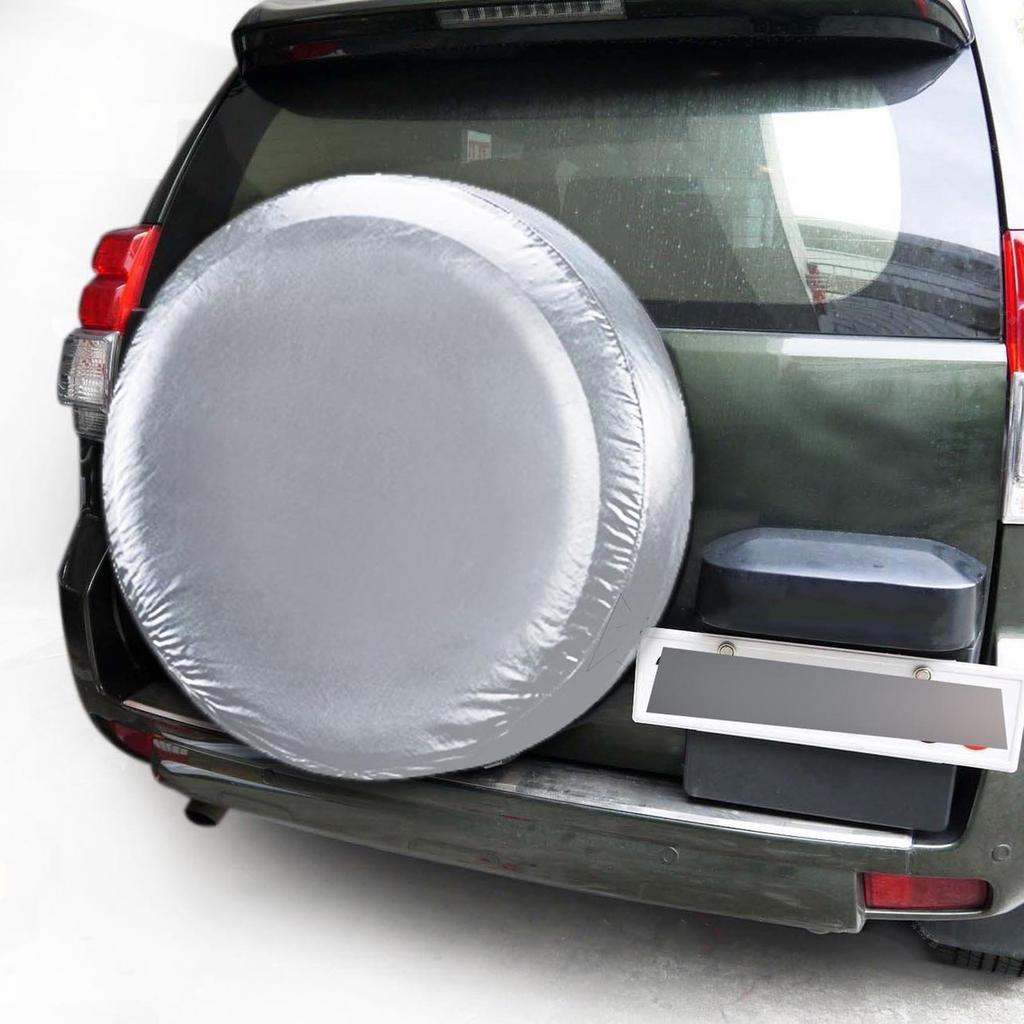 Funda universal para llantas de coche y SUV FlowerPEI funda protectora para neum/áticos funda de almacenamiento de rueda de repuesto tela Oxford de poli/éster y tafet/án