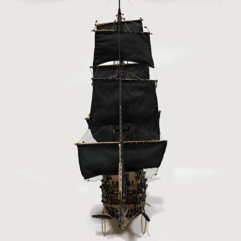 Classic madera nave modelo DIY Kits de pesca barco montaje modelo de ...