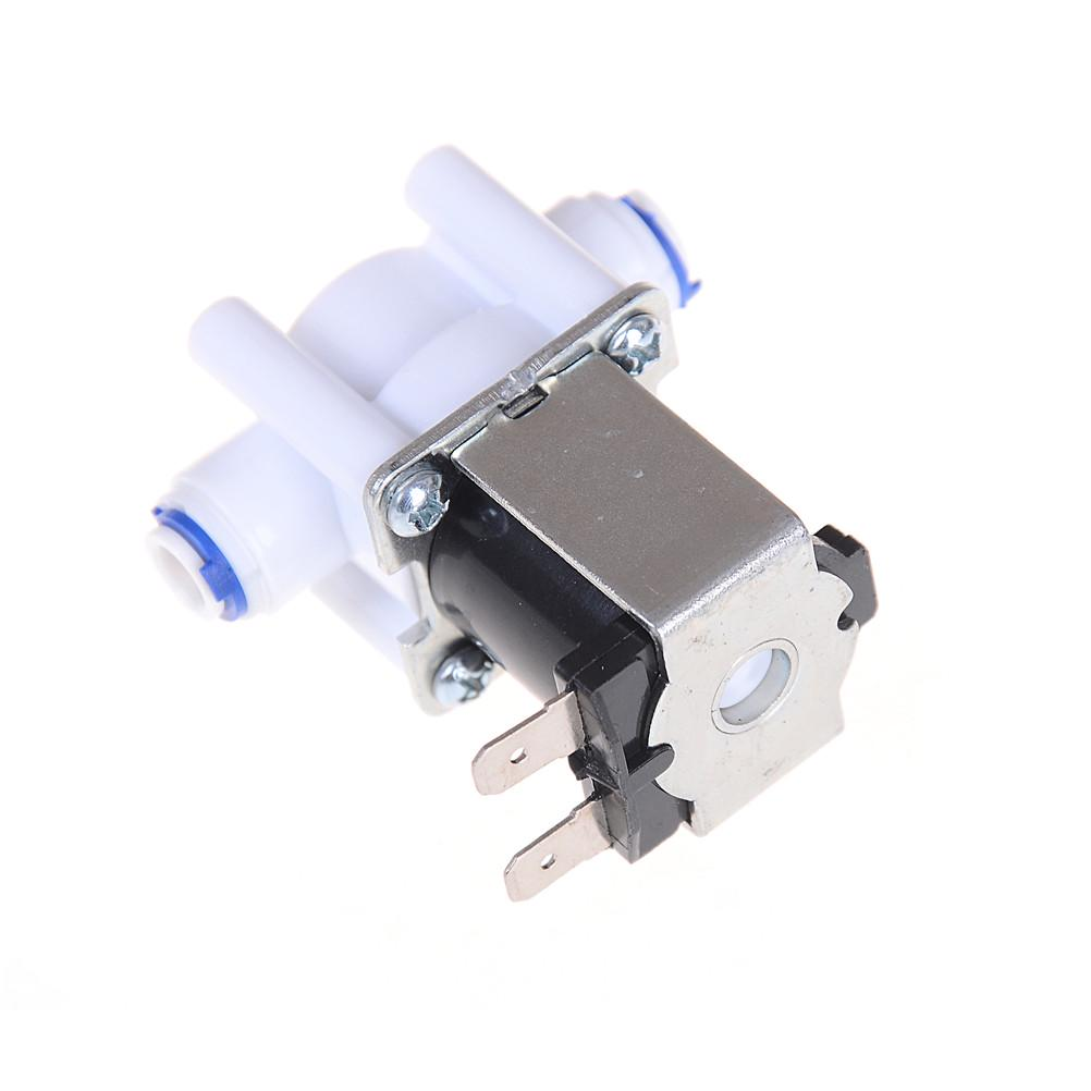 """Electric Water Valve 24V DC Solenoid Valve 1//4/"""" Hose Connection RO ControllerUNH"""