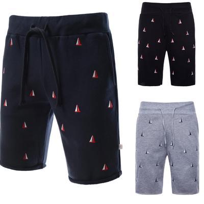 fe4f403d6e HEYKEOSN Shorts Mens Bermuda Summer Embroidery Hot Cargo Men Boardshorts Men'S  Short