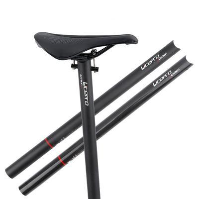 Folding Bike Seatpost Foldable Seat Post Pillar Saddle Tube 33.9//34.9mm