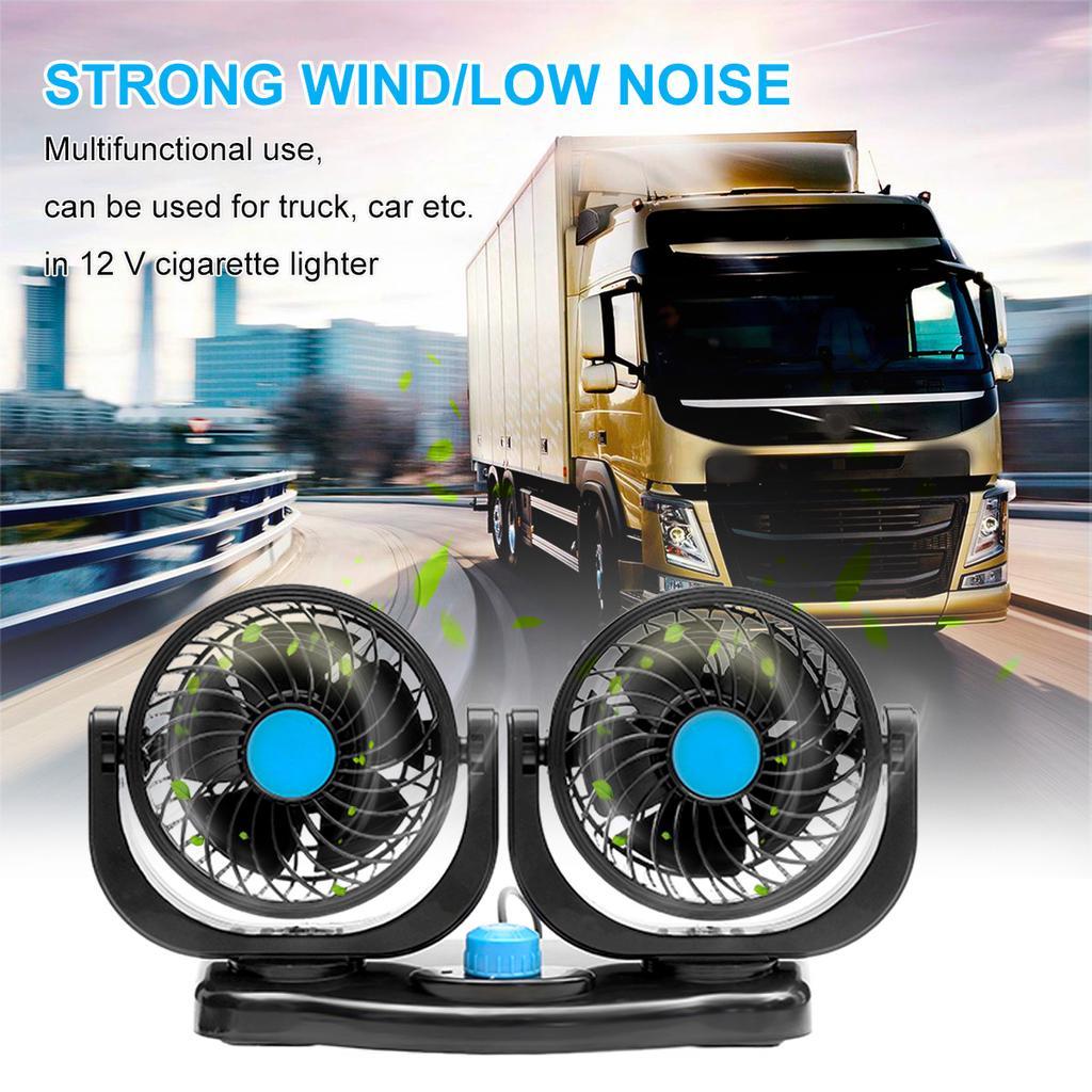 12v Car Air Conditioner Vehicle Truck Boat Car Cooling Air Fan Speed Adjustable Silent Cool Cooler Car Cigarette Lighter