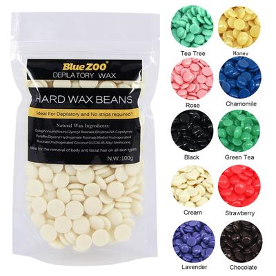 100g Painless Depilatory Hard Wax Beans Hair Removal Waxing Body Bikini Pellet Health And Beauty Buy At A Low Prices On Joom E Commerce Platform