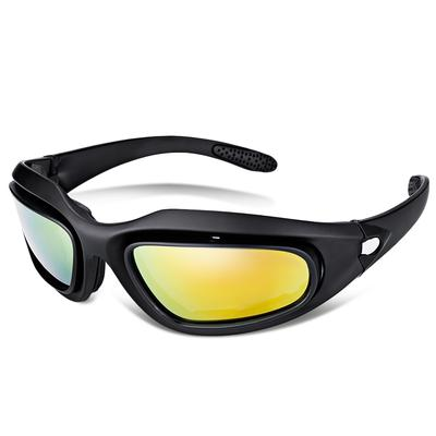 c3c992eaf4c C6 Outdoor Sports Sun Glasses Tactical Hunting UV Protection Cycling Goggles
