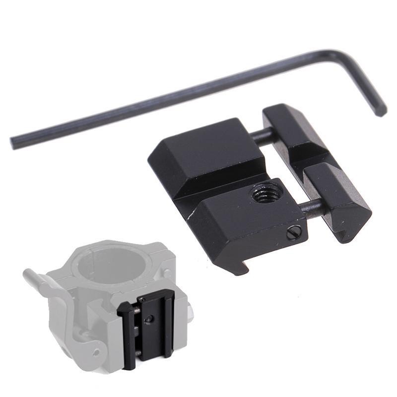 2x11mm Dovetail to 20mm Weaver Picatinny Rail Adapter Mount Scope Mounts Base~j#