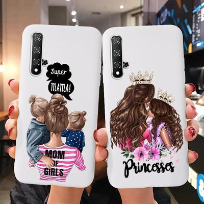 Mobile Phone Cases For Huawei P Smart Y7 Y7 Prime P20 Lite P30 Lite Honor 8A 8C 9 10 20 Lite TPU Painted Anti-fall Soft Phone Shell