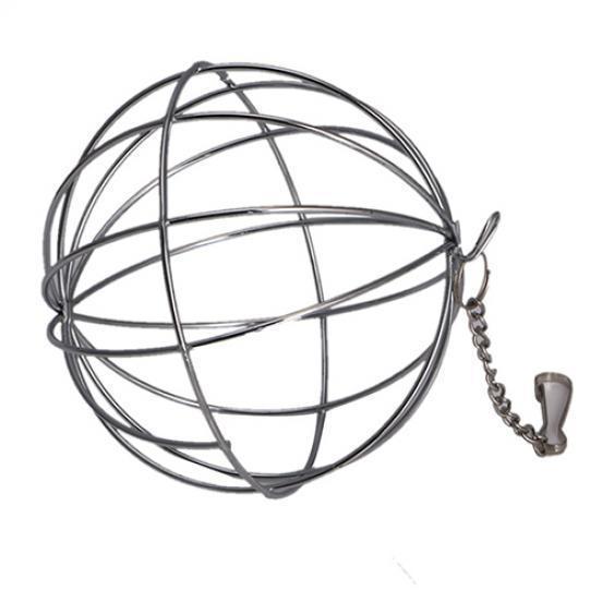 Stainless Steel Sphere Ball Pet Pig Hamster Rabbit Rat Feed