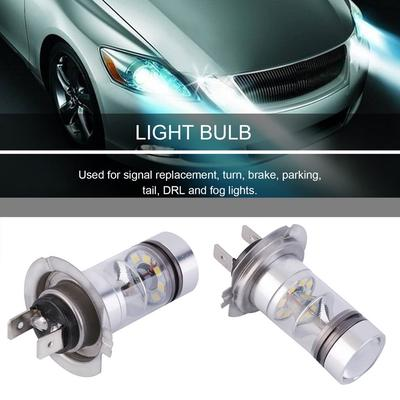 MASO 12V H1 LED Headlight Bulbs 7.5W 6000K Super Bright Fog Lights Daytime Running Lights Xenon White Headlights for Auto Pack of 2