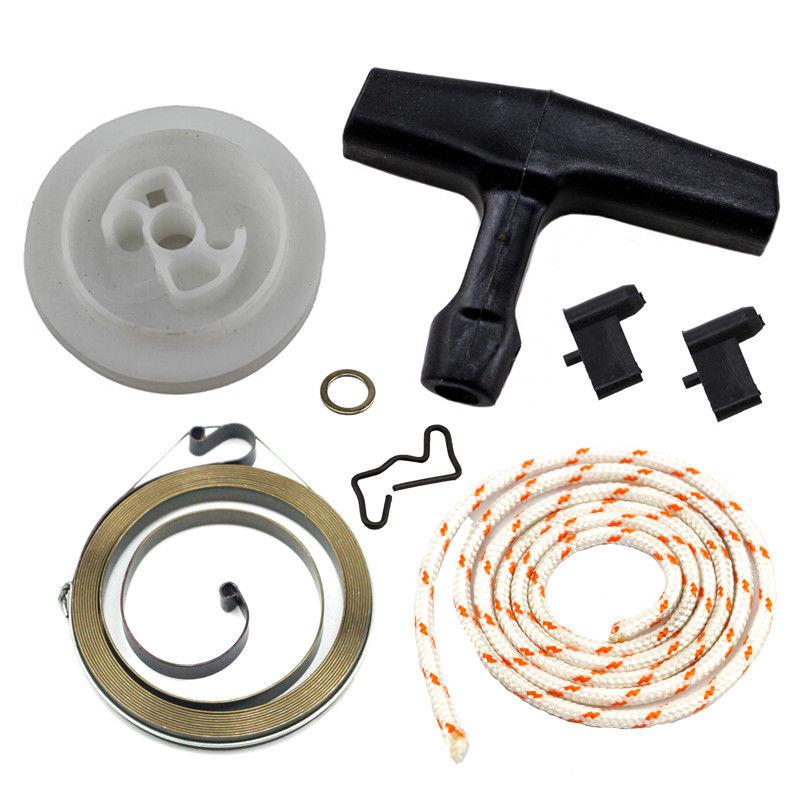 Recoil Pull Starter For Stihl 036 MS360 034 MS340 Fuel Filter Line Cap Pawl Kit