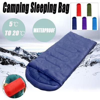 New Style 1pc Sleeping Bag Camping Sports Family Bed Outdoor Hunting Hiking Camp Sleeping Gear Sleeping Bags
